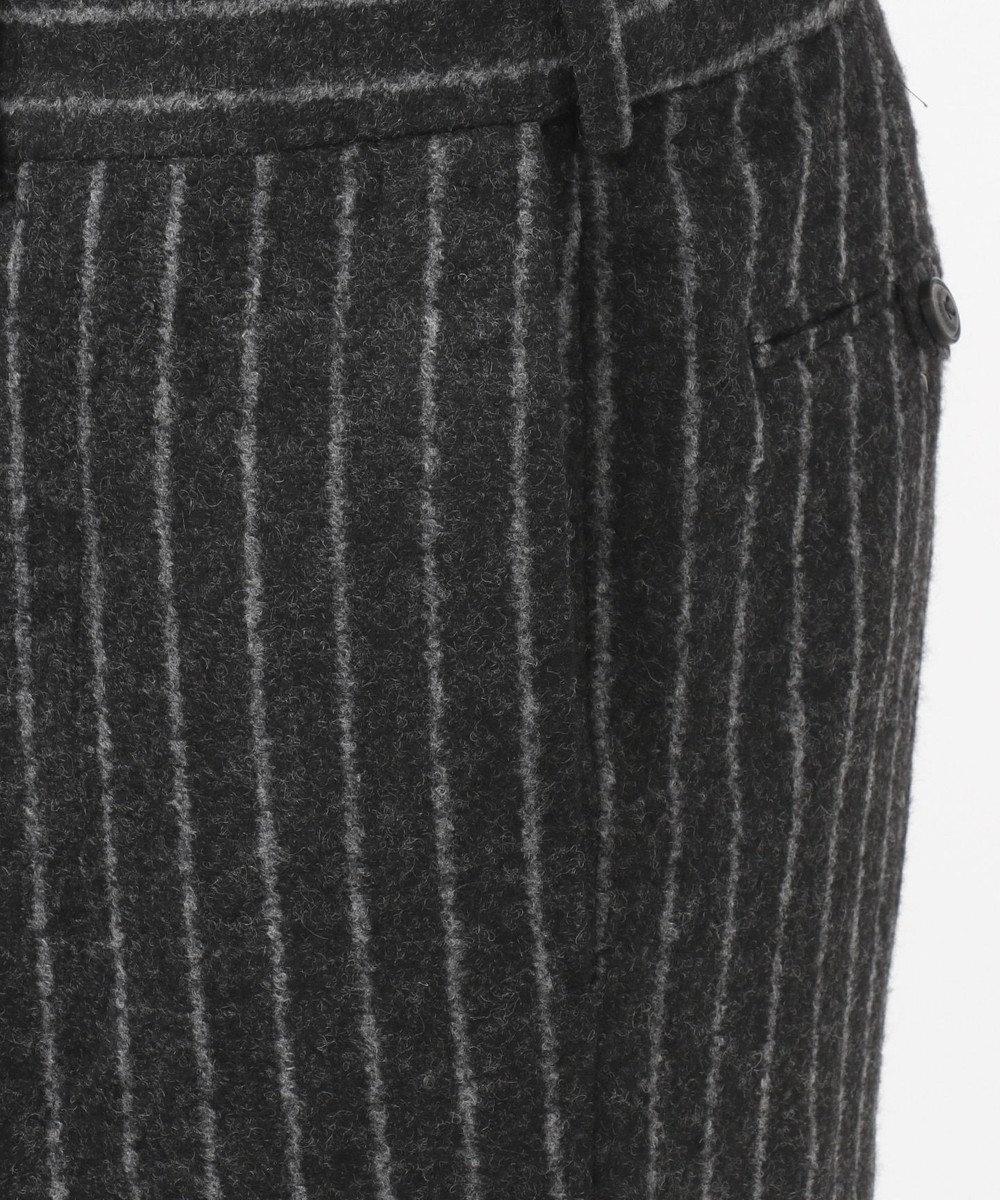 JOSEPH ABBOUD 【LUXURY COLLECTION】チョークストライプジャージー パンツ グレー系2
