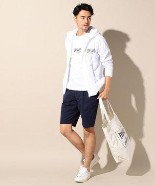J.PRESS MEN ストレッチチノ ショート パンツ ネイビー系