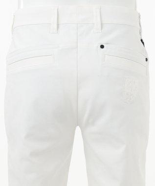 23区GOLF 【MEN】【ストレッチ】シェルタリングオックス ショートパンツ ホワイト系