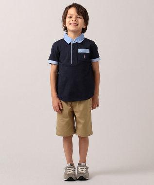 J.PRESS KIDS 【WEB限定/110-130cm】40/2天竺 スマートラガー ネイビー系
