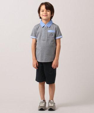 J.PRESS KIDS 【WEB限定/110-130cm】40/2天竺 スマートラガー グレー系