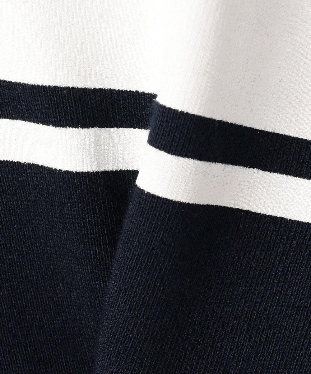 J.PRESS KIDS 【SCHOOL】30/10裏毛レイヤードラガー ポロシャツ ネイビー系
