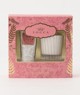 TOCCA 【数量限定】HOLIDAYSET PALMA ハンドクリーム キャンドル クレオパトラの香り
