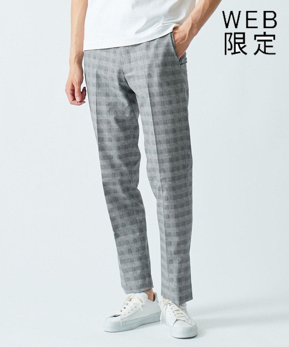 GOTAIRIKU 【WEB限定モデル】【AIRY MOVE】クールドッツ セットアップ パンツ ライトグレー系4
