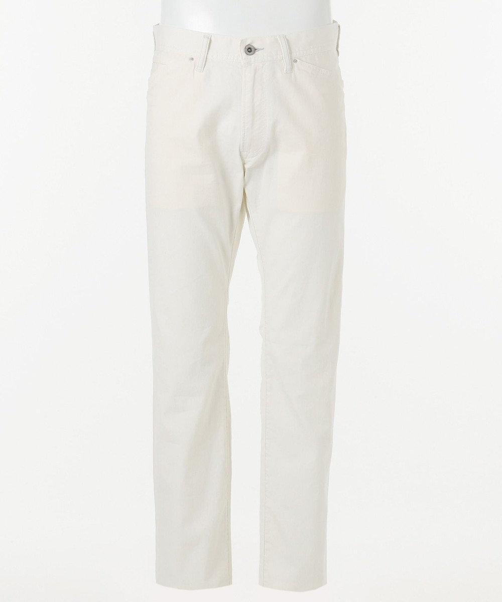 JOSEPH ABBOUD 【NEW ENGLAND】ドライリネンデニム パンツ ホワイト系