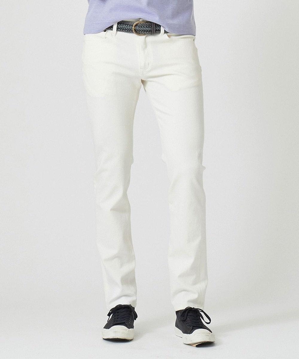 JOSEPH ABBOUD 【NEW ENGLAND】ISKO 2WAYデニム パンツ ホワイト系