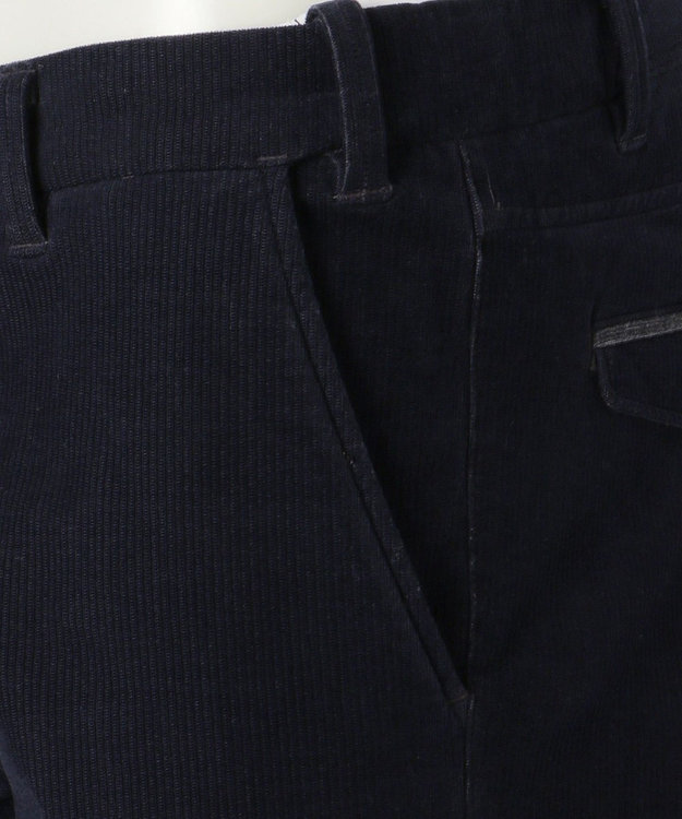 JOSEPH ABBOUD 【キングサイズ・生地もウエストも伸びる】2ウェイストレッチコール パンツ