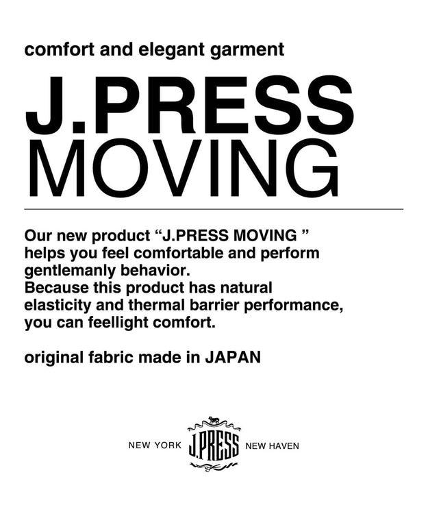 J.PRESS MEN 【J.PRESS MOVING】REDA FLEXO スラックス / グレープレーン