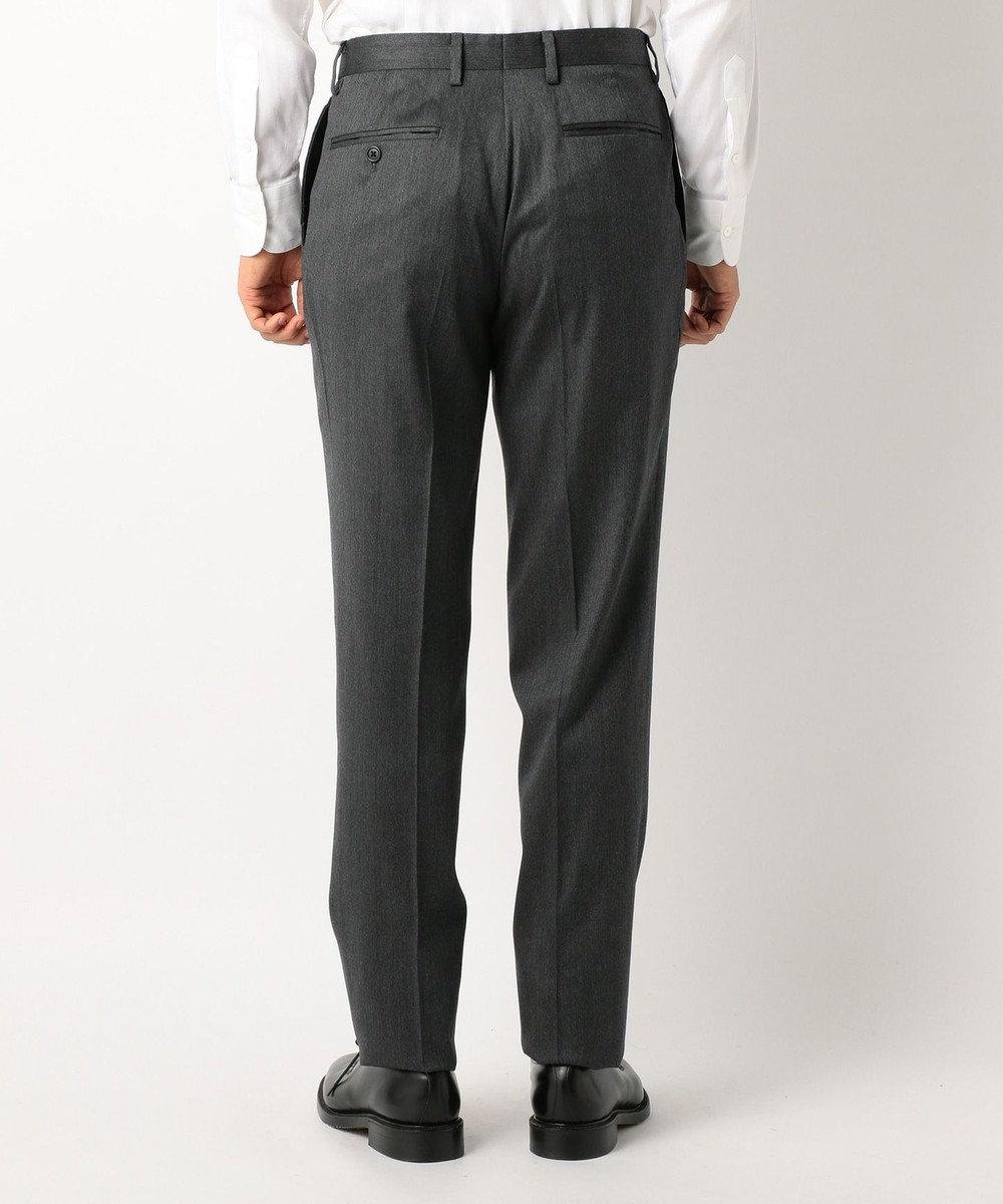 J.PRESS MEN 【warm air tec】ストレッチ ワンタック パンツ ライトグレー系