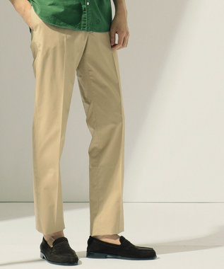 J.PRESS MEN 【数量限定】TCポプリン レギュラー パンツ ベージュ系