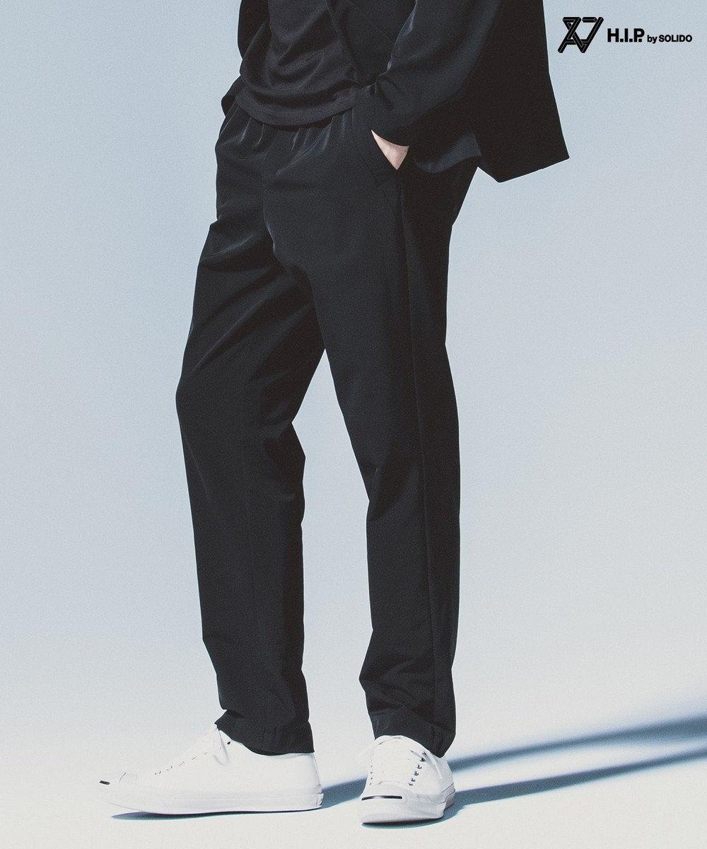 23区GOLF 【MEN】【TATRAS/H.I.P by SOLIDO】5ポケット 4WAYストレッチ パンツ ネイビー系