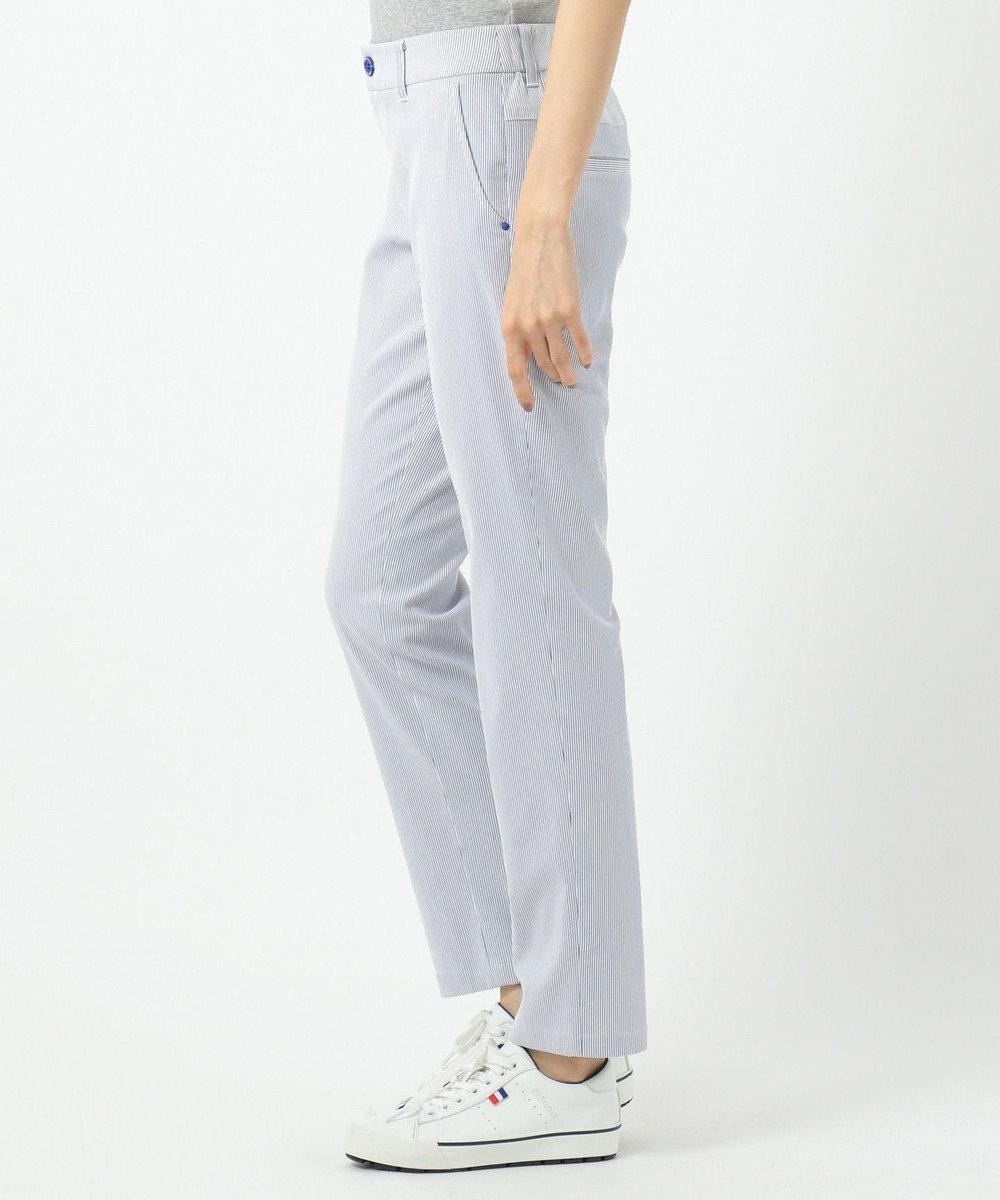 23区GOLF 【WOMEN】ストレッチコードレーン パンツ サックスブルー系2