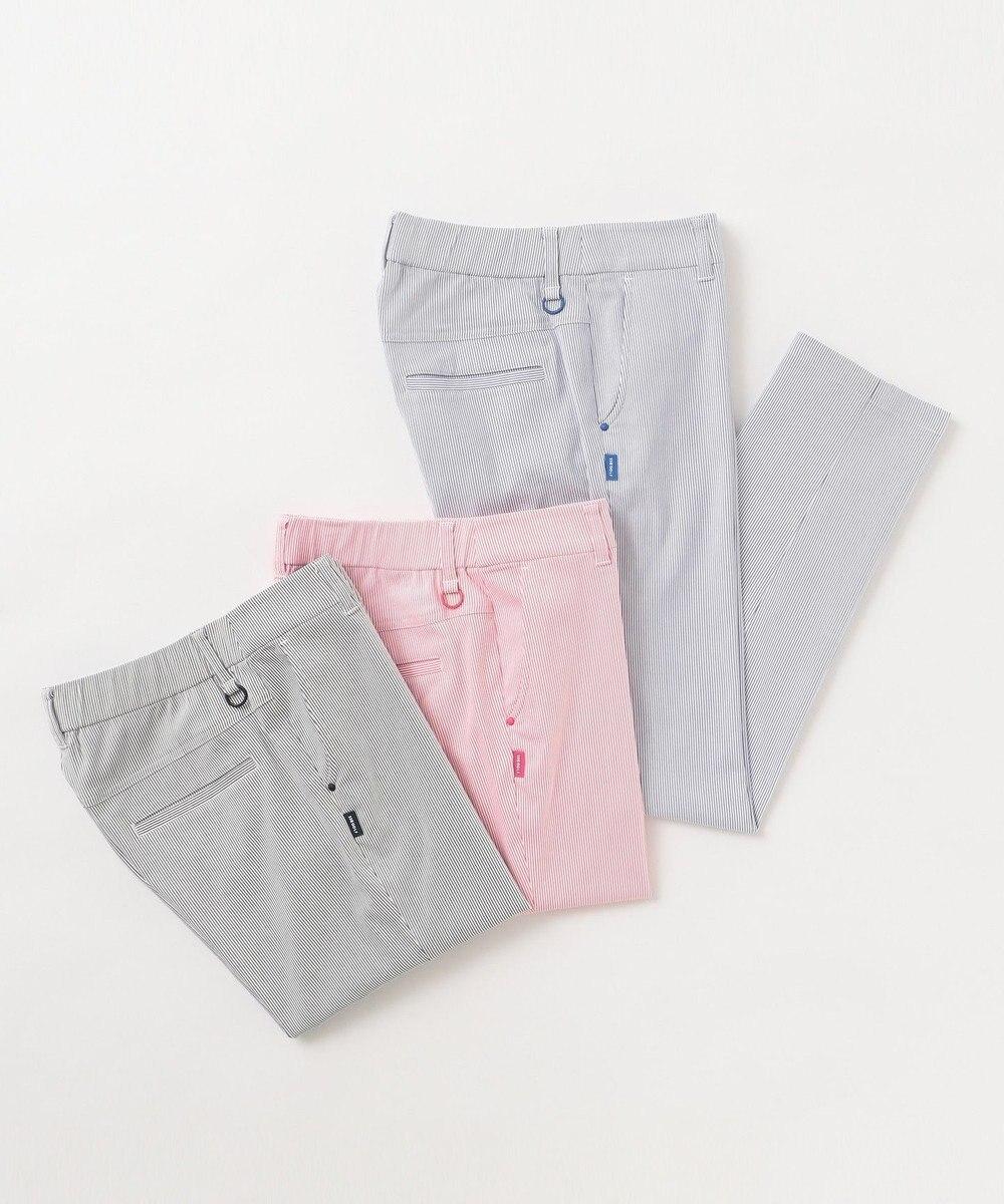 23区GOLF 【WOMEN】ストレッチコードレーン パンツ ピンク系2