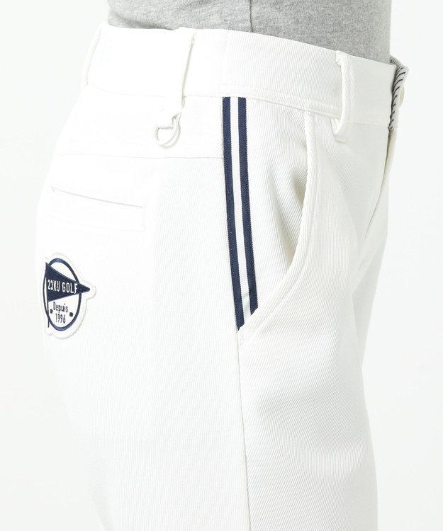 23区GOLF 透けにくい白!【WOMEN】シェルタリングカルゼ パンツ