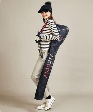 23区GOLF 【WOMEN】【ストレッチ】チェルビック パンツ ライトグレー系