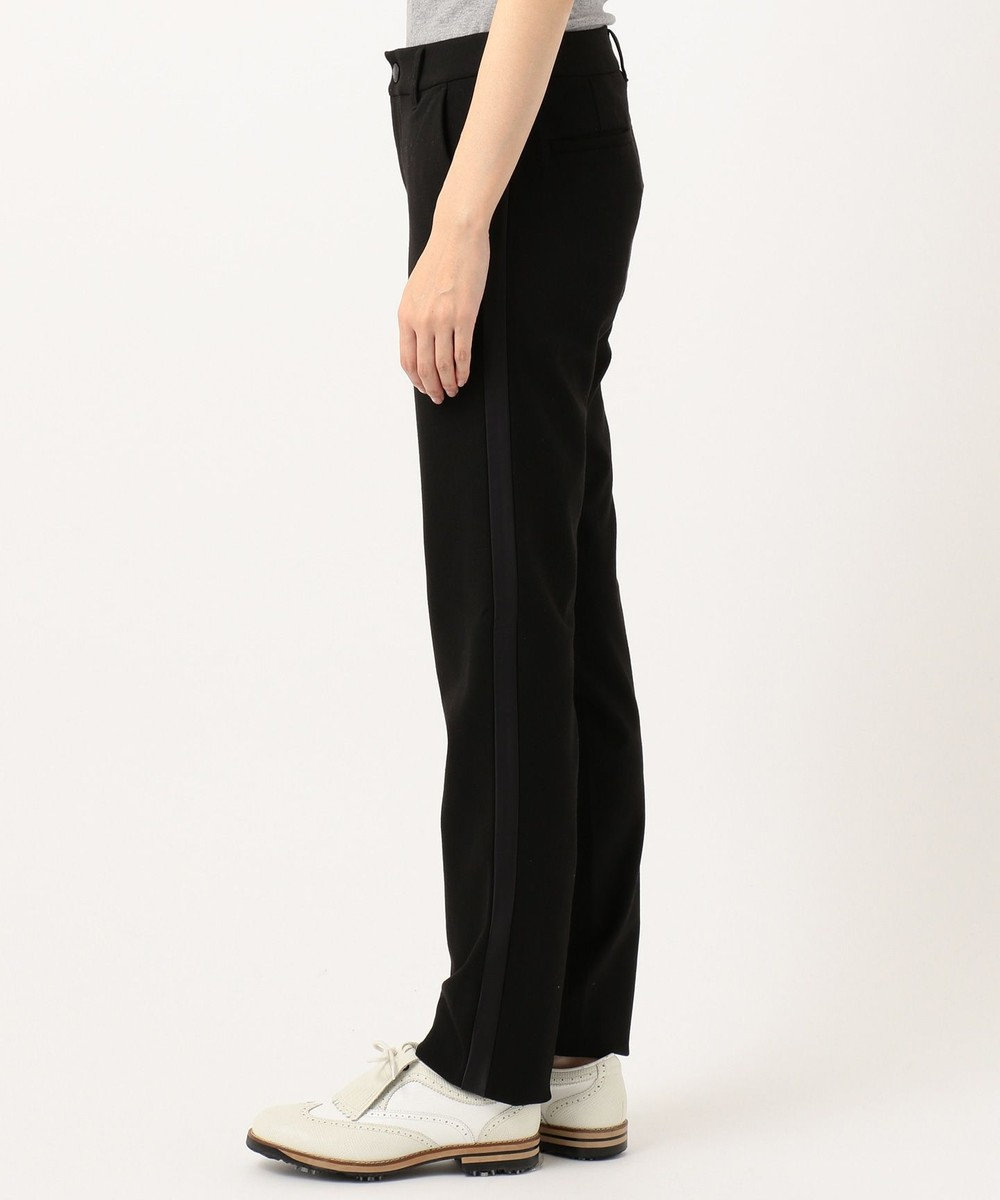 23区GOLF 【WOMEN】【ストレッチ】チェルビック パンツ ブラック系