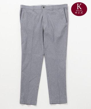 23区GOLF 【キングサイズ】ハイパワーストレッチドビー パンツ ネイビー系