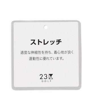 23区GOLF 【MEN】【ストレッチ】ストレッチ アートピケ パンツ ネイビー系5