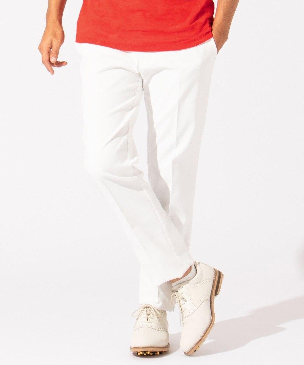 【オンワード】 23区GOLF>パンツ 【MEN】【ストレッチ】シェルタリングオックス パンツ ホワイト 94 メンズ 【送料無料】