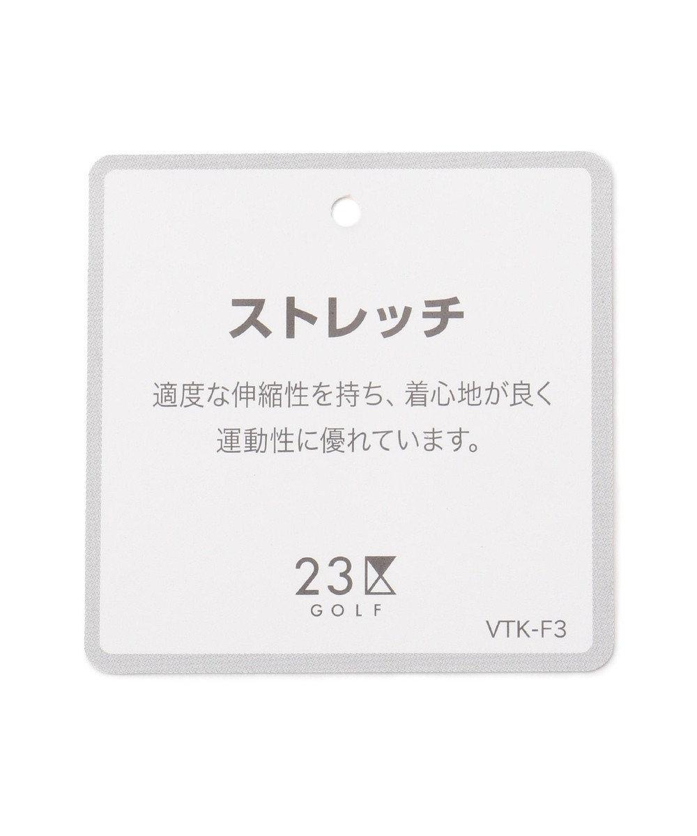 23区GOLF 【ストレッチ】【MEN】ドビーチェック パンツ ブラック系