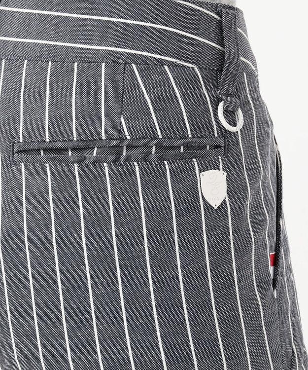 23区GOLF 【WOMEN】【ストレッチ】シェルタリングDRYオックスストライプパンツ