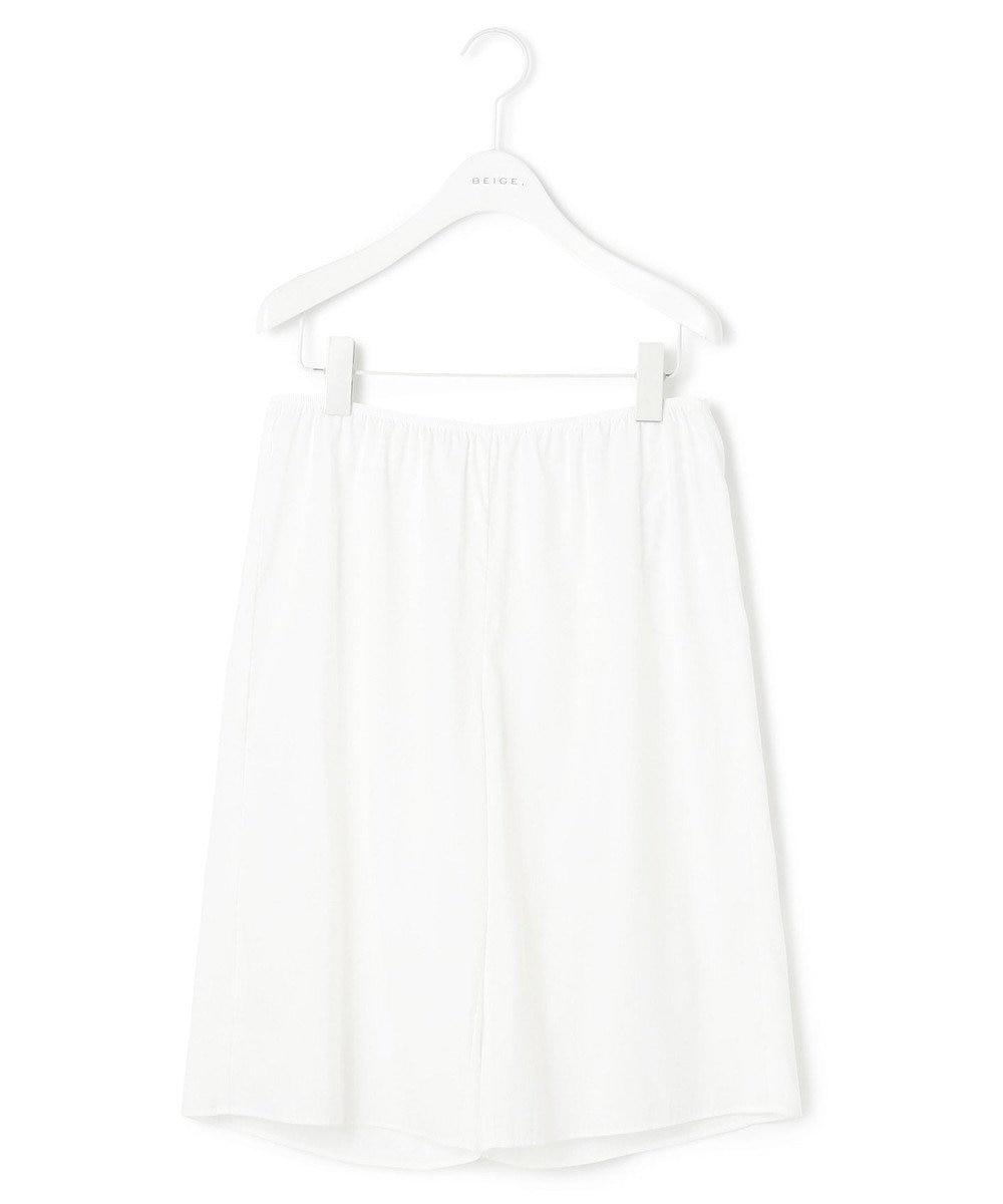 BEIGE, SPITTAL / パンツ White