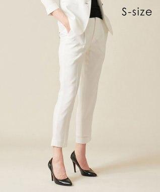 BEIGE, 【S-size】RUIRU / テーパードパンツ White