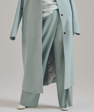 BEIGE, 【STORY11月号掲載】CHIRK / ワイドパンツ Celadon