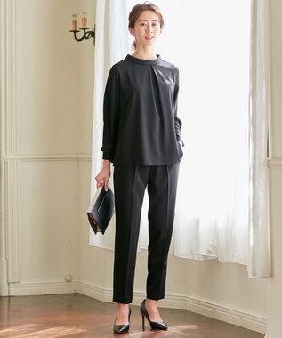 ICB L 【洗えるセットアップ】Fied パンツ ブラック系