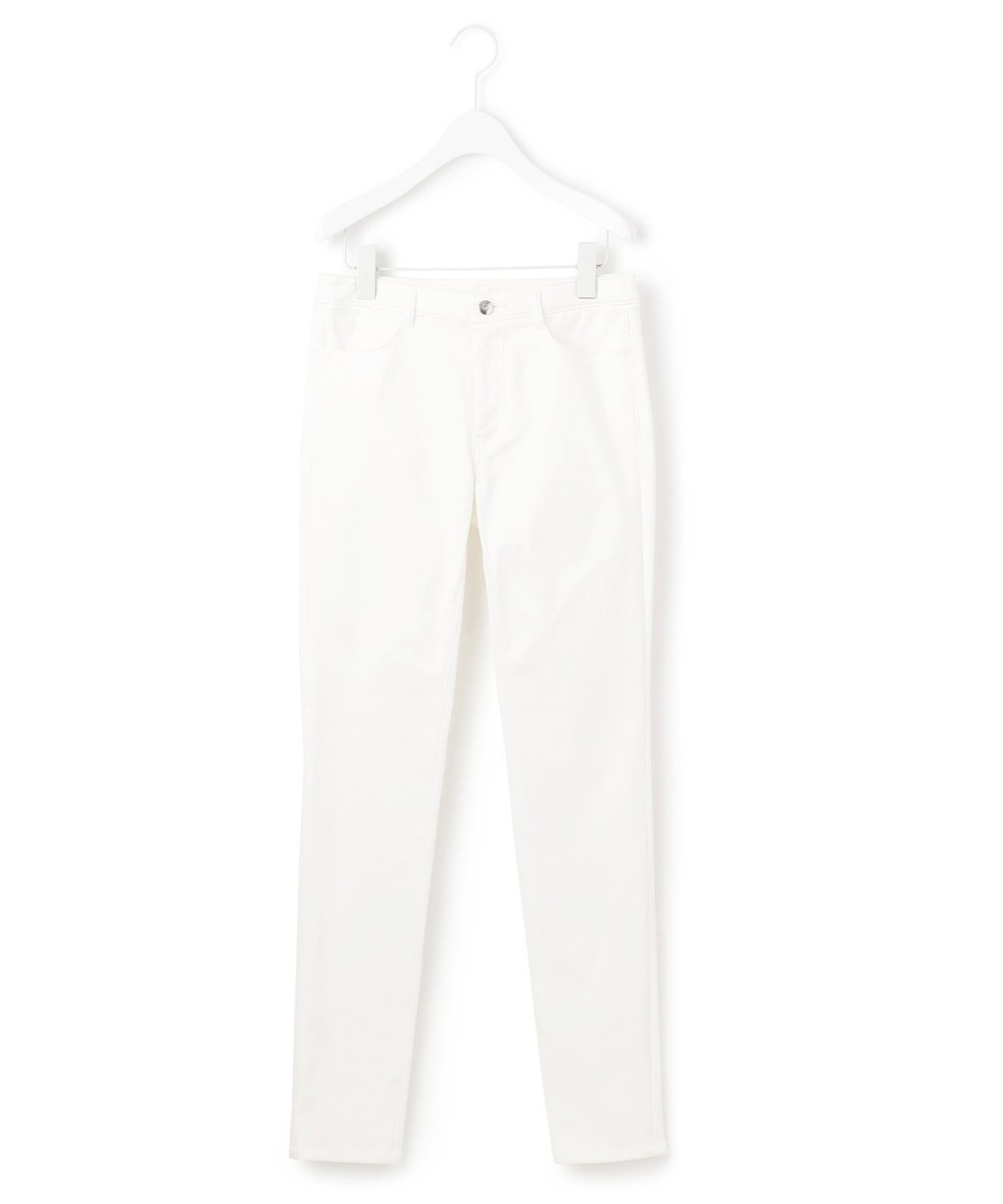 【オンワード】 ICB>パンツ BRUSHED BACK SKINNY パンツ ブラック 2 レディース 【送料無料】
