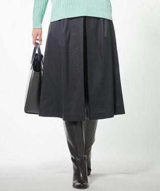 ICB 【セットアップ】Satin バミューダパンツ ネイビー系