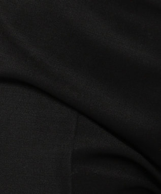 ICB Bahariye/SoftChambraySuit クロップドパンツ ブラック系