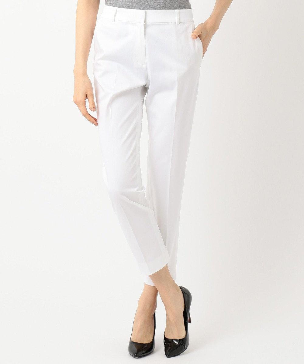 ICB L 【ストレッチ】Cotton Mix Stretch パンツ ホワイト系