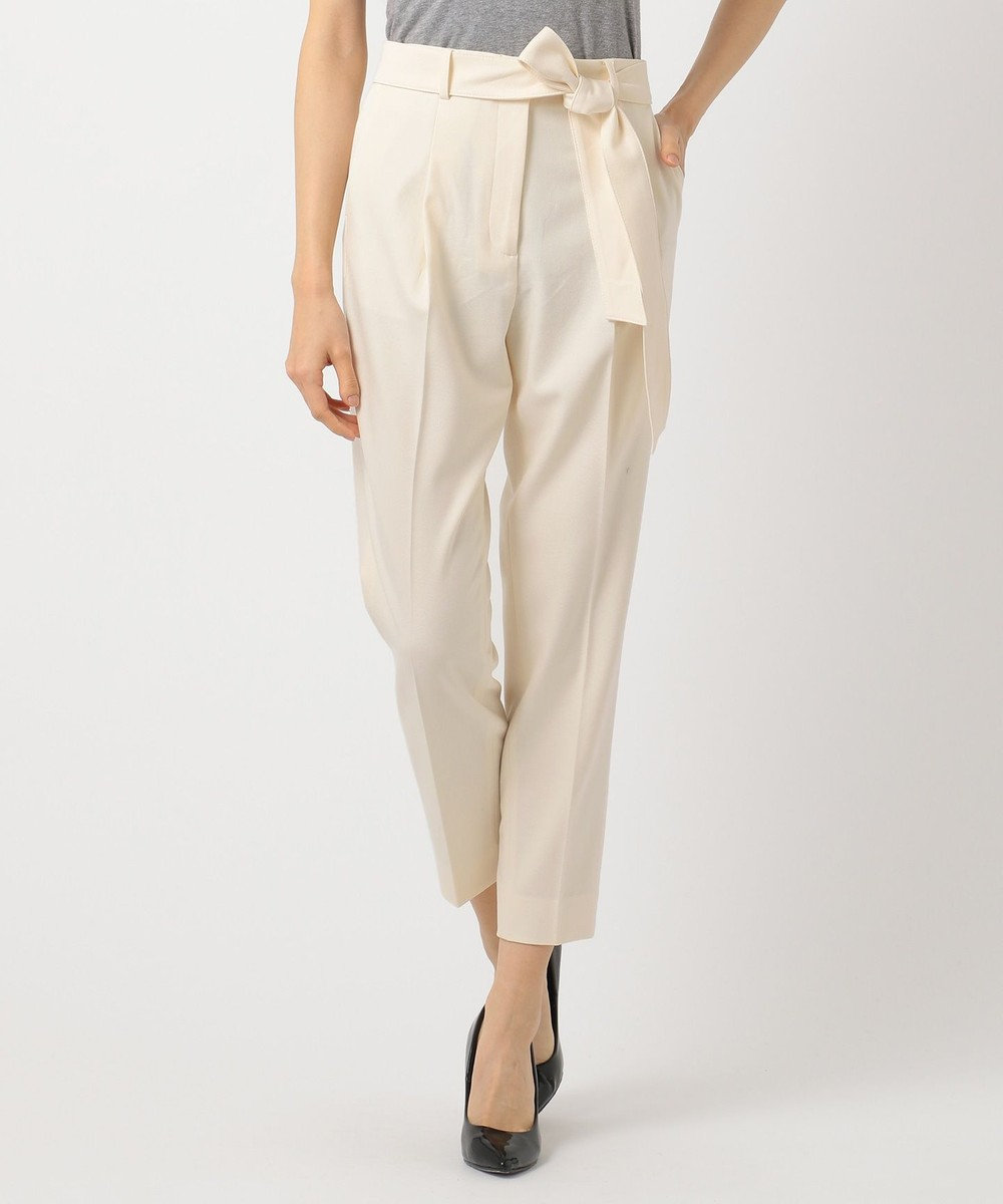 ICB 【店頭売れ筋】裏起毛 スティックパンツ ホワイト系