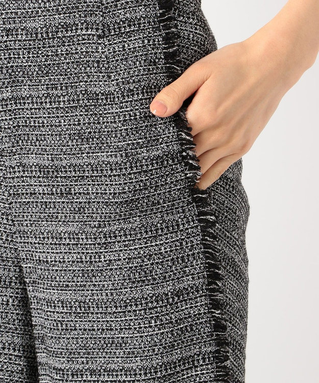 ICB 【ICB×Yuko Maezawa】Tweed パンツ