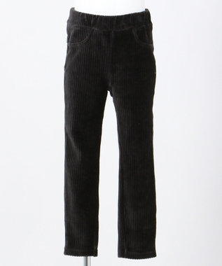 any FAM KIDS 【90-130cm】ニットコール リボン付き パンツ ブラック系