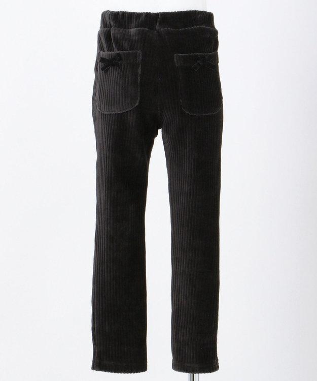 any FAM KIDS 【90-130cm】ニットコール リボン付き パンツ