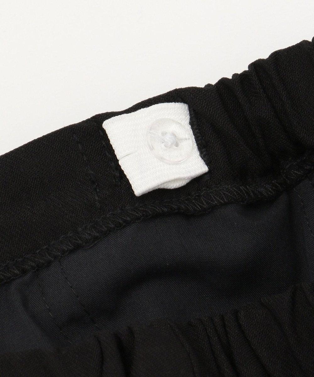 any FAM KIDS 【BOYS/90~130cm】アジャスター付きストレッチツイル パンツ ブラック系