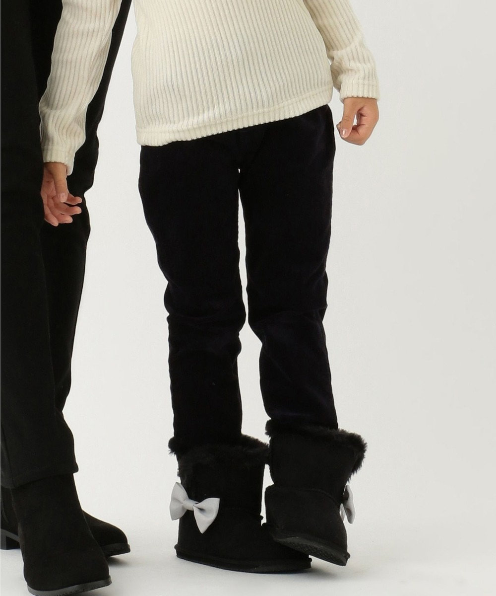 any FAM KIDS 【100~130cm】アメリカン別珍 アジャスター付きパンツ ネイビー系