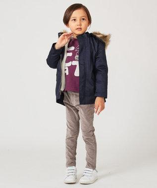 any FAM KIDS 【100~130cm】アメリカン別珍 アジャスター付きパンツ ベージュ系