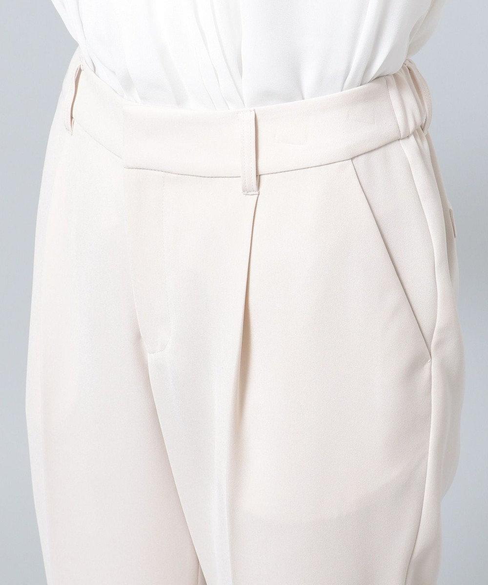 any FAM 【セレモニー】ライトストレッチクロス テーパードパンツ ベージュ系