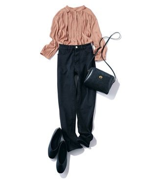 any FAM 【ベストセラー】STYLE UP SKINNY デニムパンツ ネイビー系