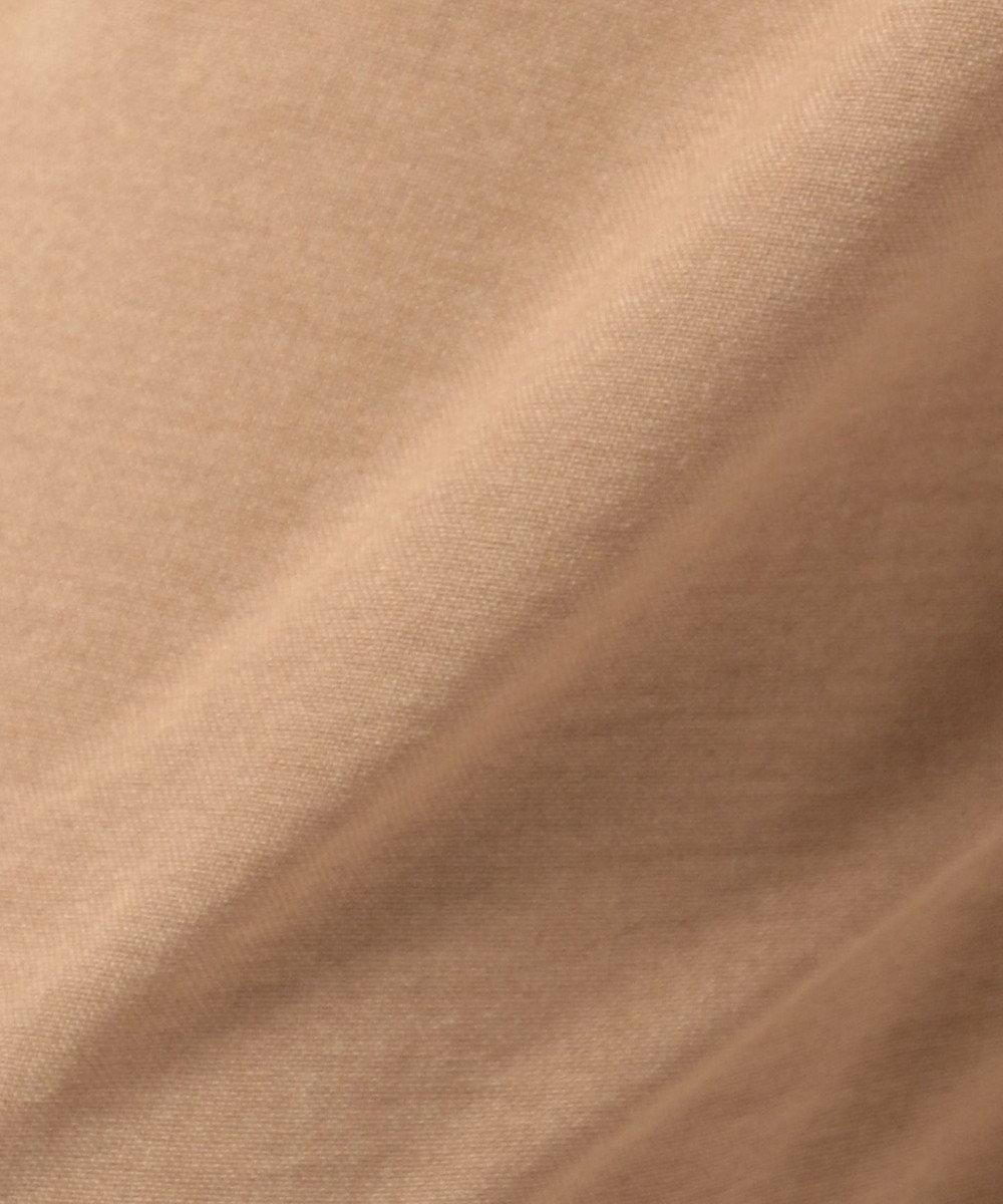 any FAM 【洗える】リネンライククロス ワイドパンツ ブラウン系