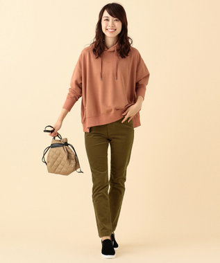 any FAM 【驚きの伸縮性】コーデュロイ スキニーパンツ ブラウン系
