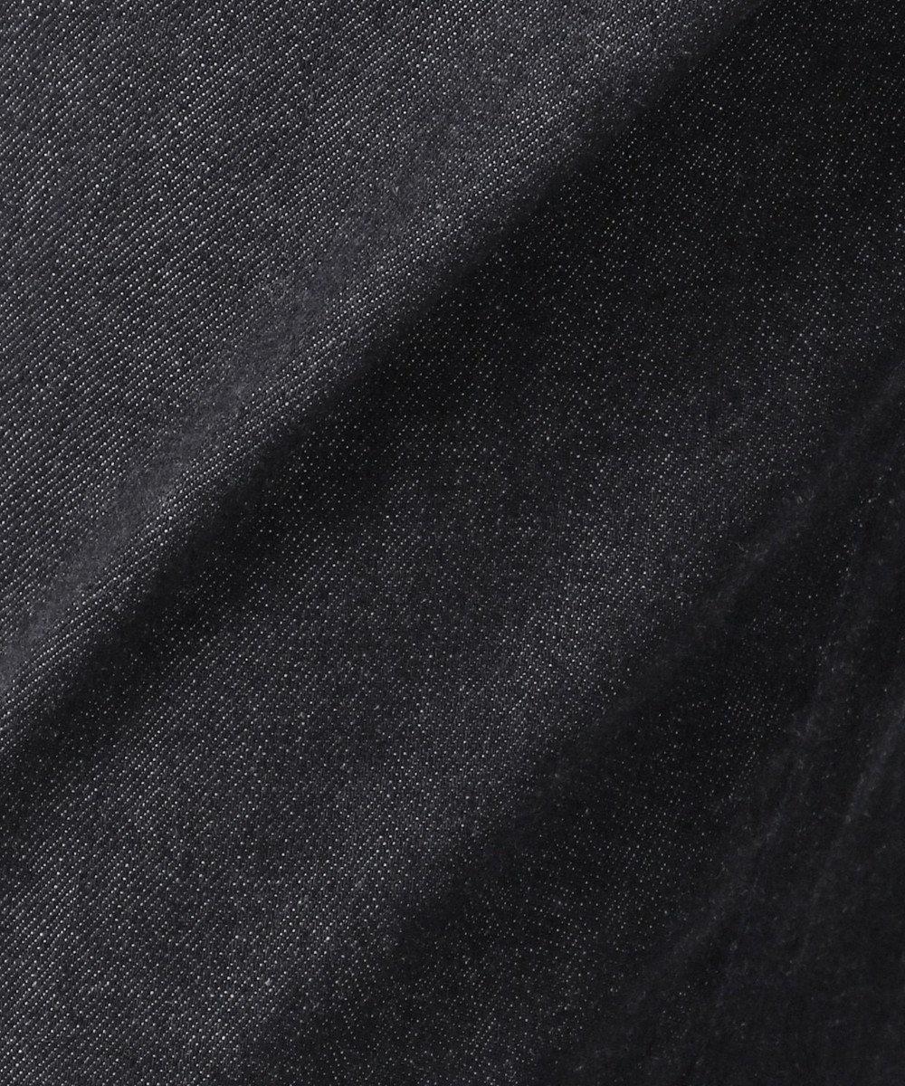 J.PRESS LADIES 【驚異の伸縮率】8.5オンスストレッチデニム ワイドパンツ ネイビー系