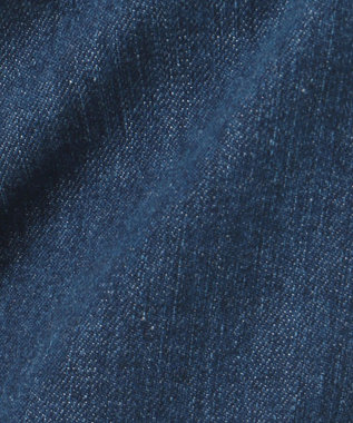 J.PRESS LADIES 【驚異の伸縮率】8.5オンスストレッチデニム ワイドパンツ ブルー系