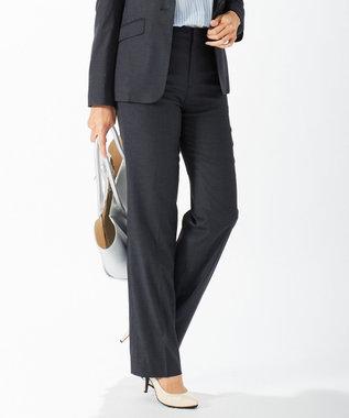 J.PRESS LADIES S 【スーツ対応】Premium G.B. Conte パンツ ネイビー系