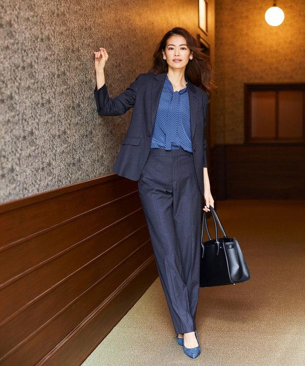 J.PRESS LADIES S 【スーツ対応】Premium G.B. Conte パンツ