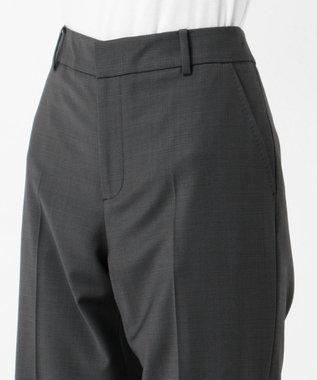J.PRESS LADIES S 【スーツ】BAHARIYEストライプorチェック ストレートパンツ グレー系5