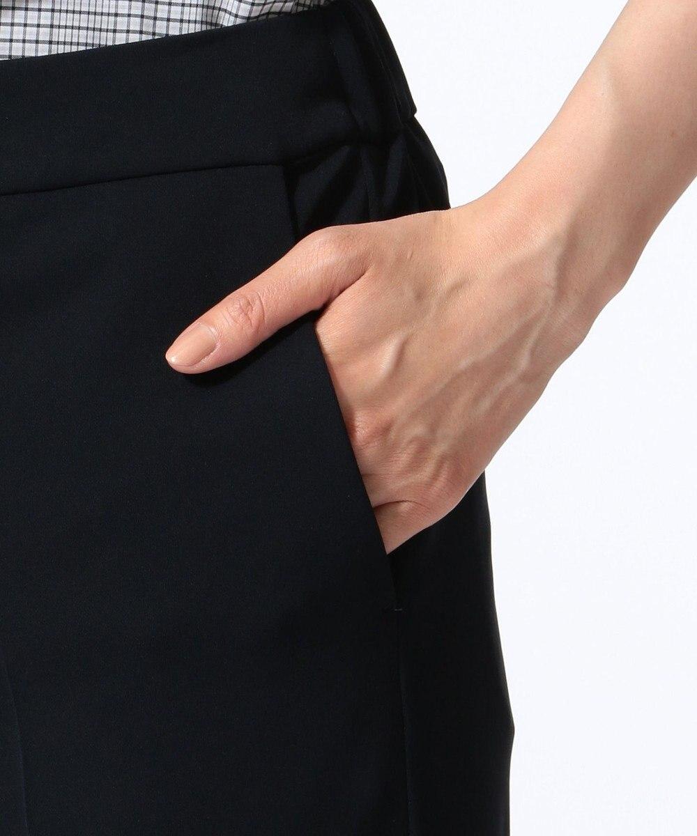 J.PRESS LADIES L 【WEB限定色あり・接触冷感・吸水速乾】トリアセモックロディ パンツ ネイビー系